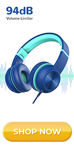 iClever HS17 kids headphones with volume limiter