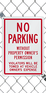 Violators Will Be Towed
