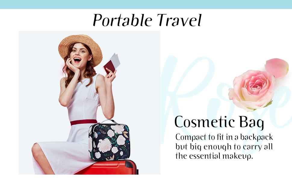travel makeup bag organzier