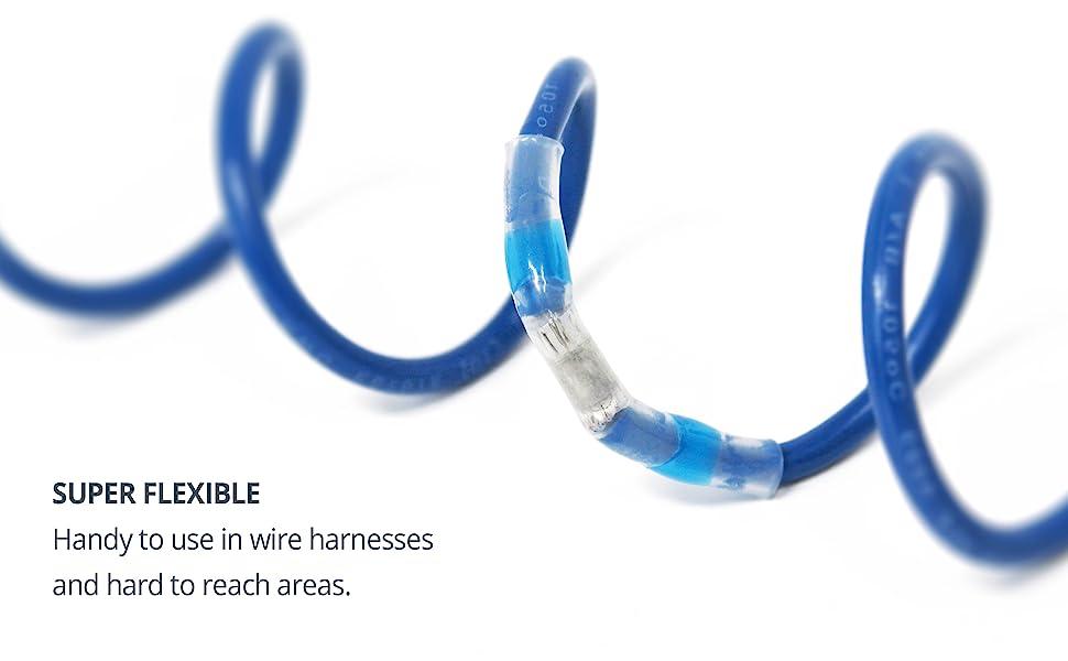 Solder seal connectors super flexible no crimping needed