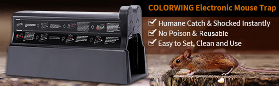 electric Rodent Killer for Indoors & Outdoors