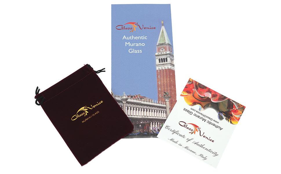 Murano Glass, GlassOfVenice, Venetian Glass, Murano Glass Certificate Of Authenticity, Real Murano