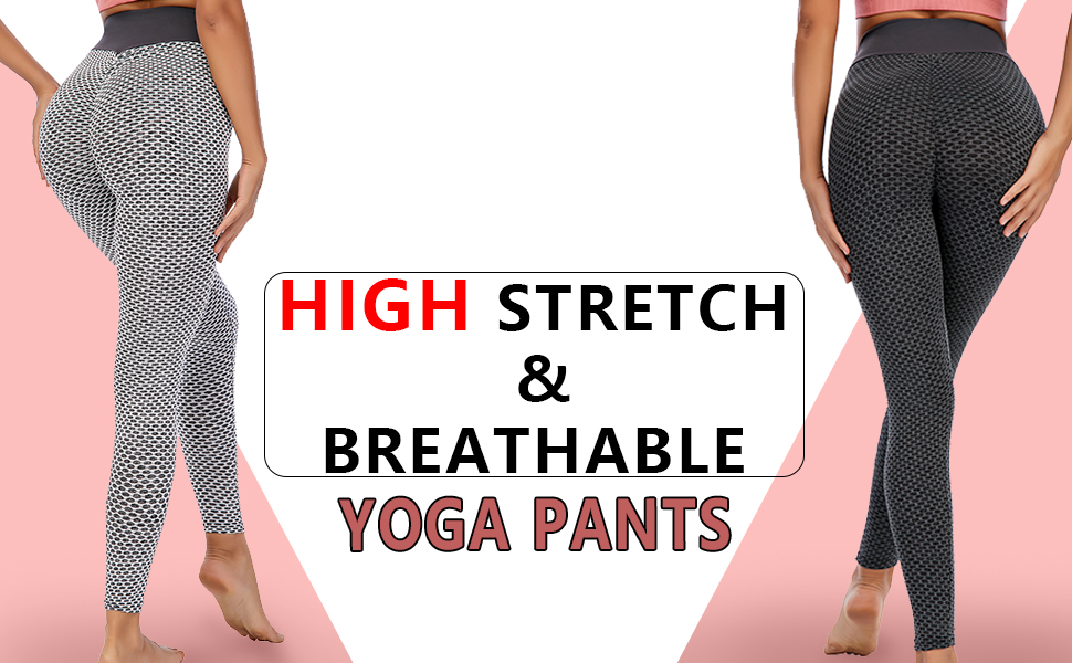 lifting yoga pants anticellulite leggings textured activewear tights booty scrunch leggings