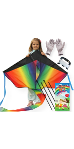 easy flyer large big kite for kids and adults