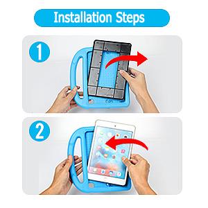 Fire HD 8 Case 2020-Installation Steps