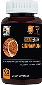 Studio image of Clinical Daily Cinnamon  Supplement Bottle