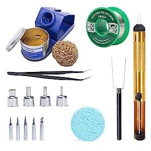 free tools free kit free iron tips for soldering reworking