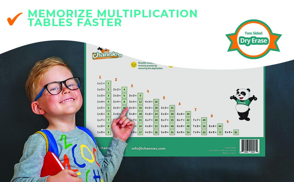 Memorize Multiplication Tables Faster