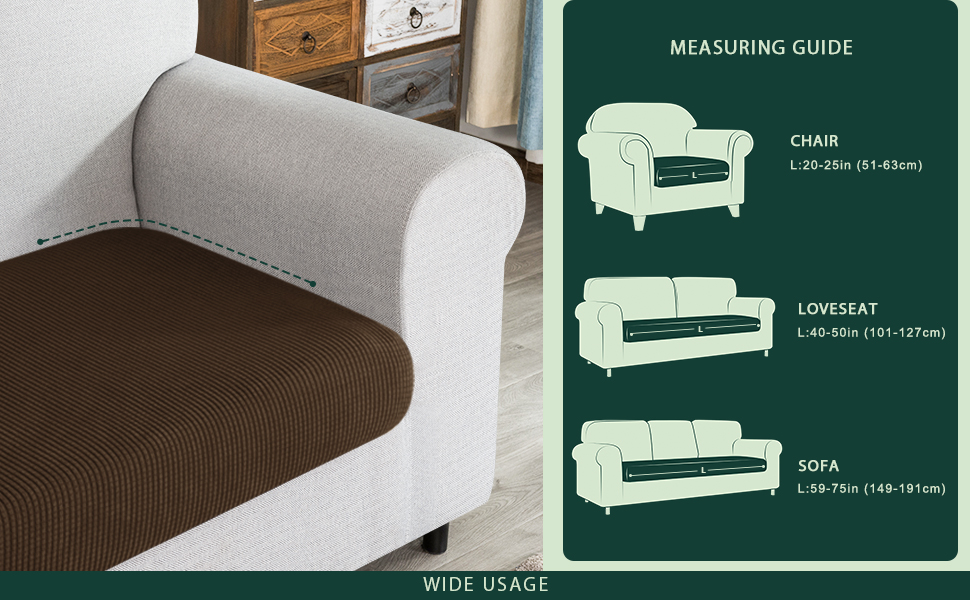 chaise cushion cover