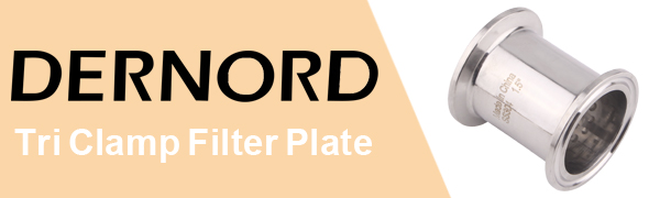 DERNORD Tri Clamp Filter Plate
