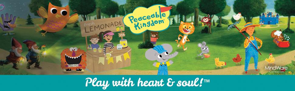 Peaceable Kingdom Banner
