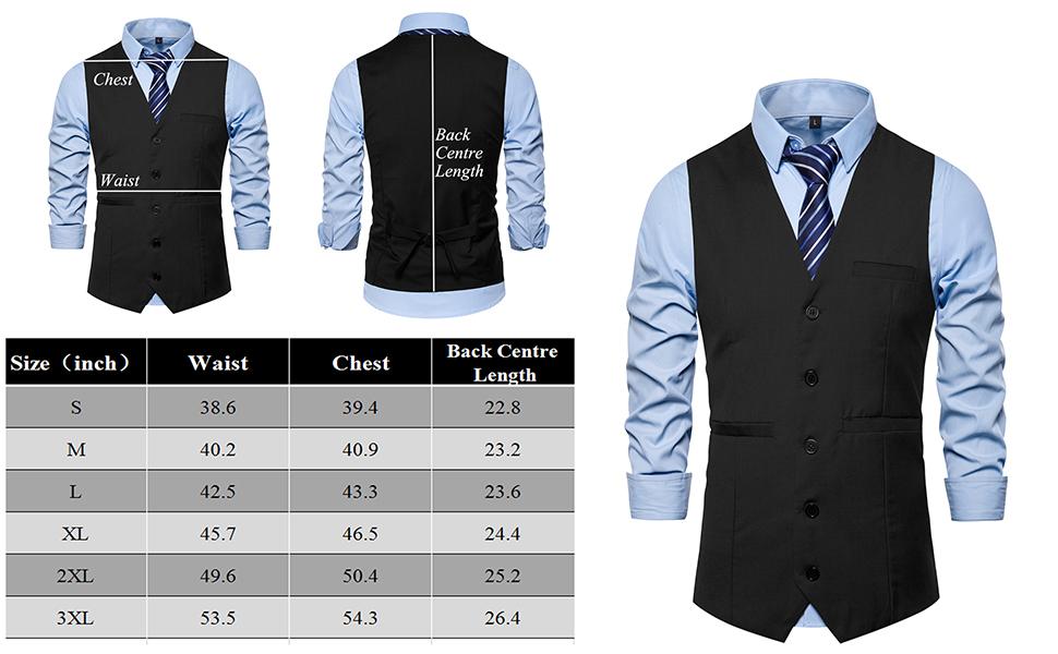 DONGD suit vest