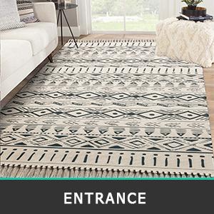 cotton are rug runner for kitchen floor