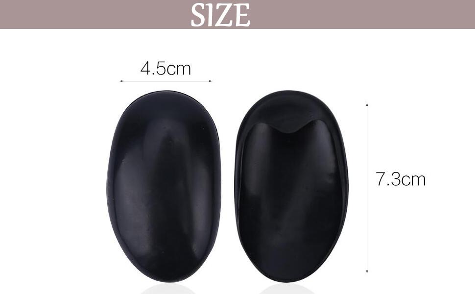Cubierta de oreja 5 pares Tinte de peluquer/ía impermeable para colorear Cubierta de oreja negra Protector Protector Orejera Orejeras Tapones para la peluquer/ía Kit de estilismo para el ba/ño Ducha de