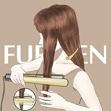 2 in 1 hair straightener and curler kipozi