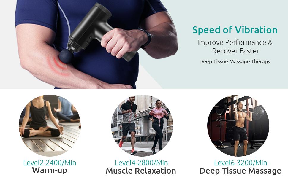 Deep Tissue Muscle Massager