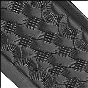Dutyman | Basketweave Embossed Leather