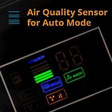 smart air purifier auto mode
