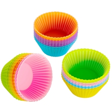 mini silicone baking cups greaseproof heart happy birthday kids large liners lavender mold muffin
