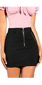 Hapshey Ladies Mesh Skirt Lace Skirt A-Line Flared Casual Mini Skirt Slim Simple Dress Fashion Casual Dress Womens Basic Versatile Stretchy Skirt