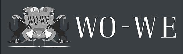 WO WE WO-WE Wolfgruben Werke Logo Marke Brand