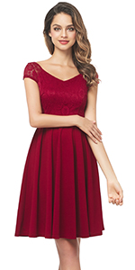 lace patch short dress for women floral lace bridesmaid dress v neck short lace dress for women lace