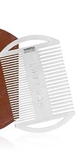 EDC Credit Card Size Beard Hair Comb