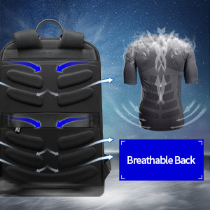 breathable back