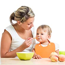 Baby hot food readings