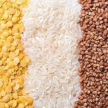 wheat popcorn sugar emergency prepared FIFO brown white oats rice flour pasta macaroni, beans carbs