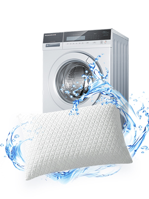 Memory Foam Pillows are fade resistant and stain resistant, Our pillows cover are machine washable