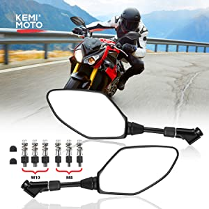 motorcycles rear view mirrors