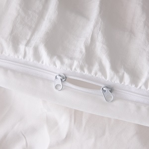 zipper duvet cover