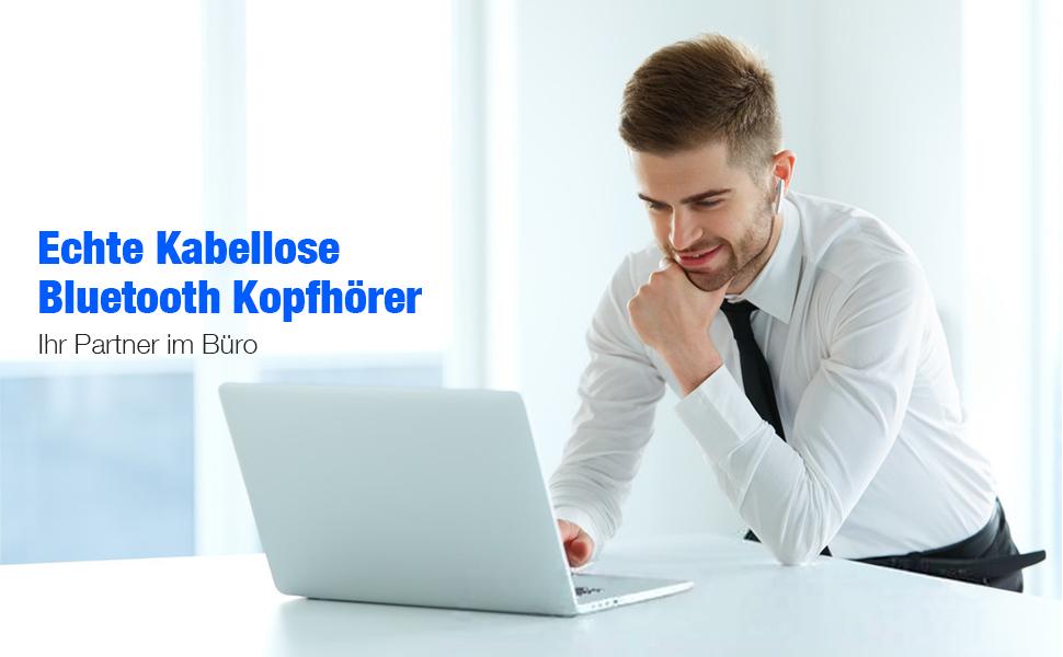bluetooth kopfhörer weiss kabellos
