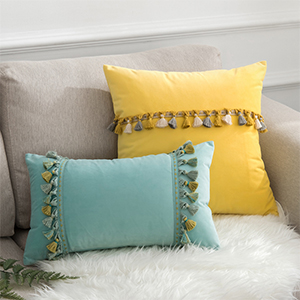 cute living bohemian home long pillowcase decorations rectangle turquoise couches sham seat