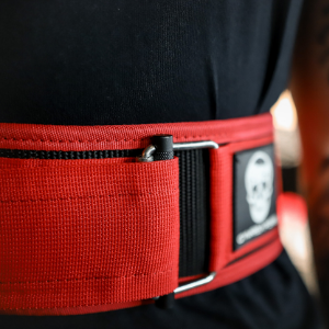 self quick lock belt auto cross fit training fit people man woman buckle nylon elastic power strong