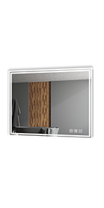 LED Illuminated Bathroom Wall Mirror