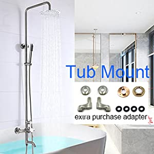 tub mount shower