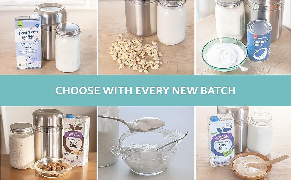 plant based vegan coconut yogurt maker yoghurt