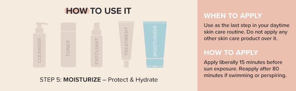 Extra Care Non-Greasy Sunscreen SPF 50 prevents premature aging of skin through antioxidant formula.