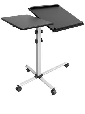 Mount-It! Height Adjustable Rolling Laptop Cart