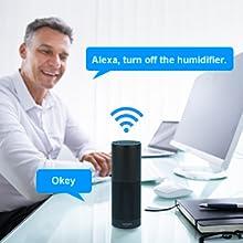 TENDOMI Humidificador Bebé, Humidificador WiFi Inteligente ...