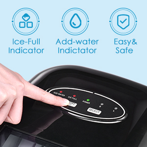 One-touch operation ice maker