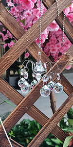 Crystal Windchimes Unique Outdoor Clearance, Crystal Suncatcher Hanging Décor Window