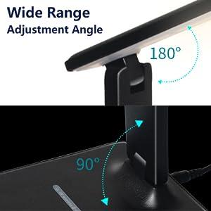 Foldable and adjustment angle