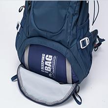 Dual Zipped Storage for sleeping bag