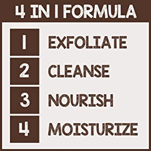 pureSCRUBS 4 in 1 Formula Body Scrub
