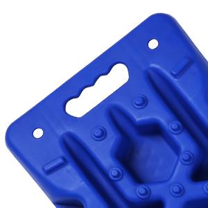 Shovel design of traction boards