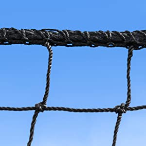 FORTRESS Baseball Batting Cage Nets, Softball Batting Cage Nets