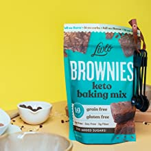 keto brownie mix chocolate chips
